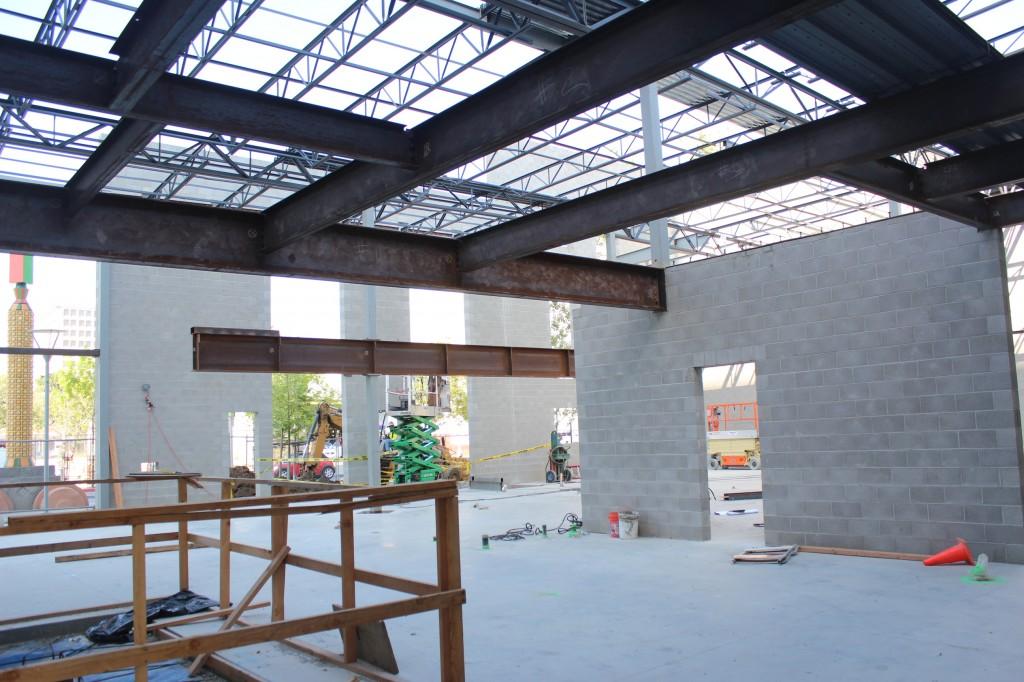 Atrium Steel Structure San Jose First United Methodist