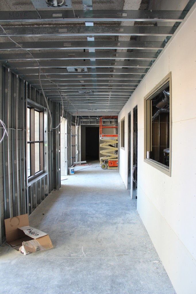 Pre-school hallway from Vestibule 130614