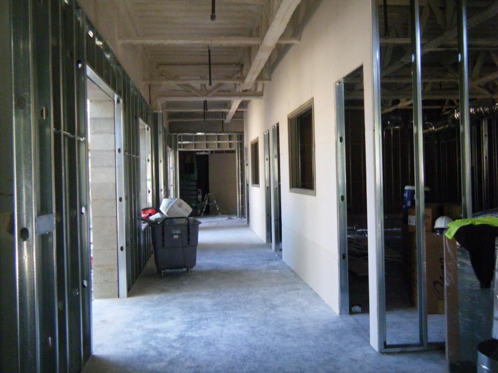 pre-school hallway