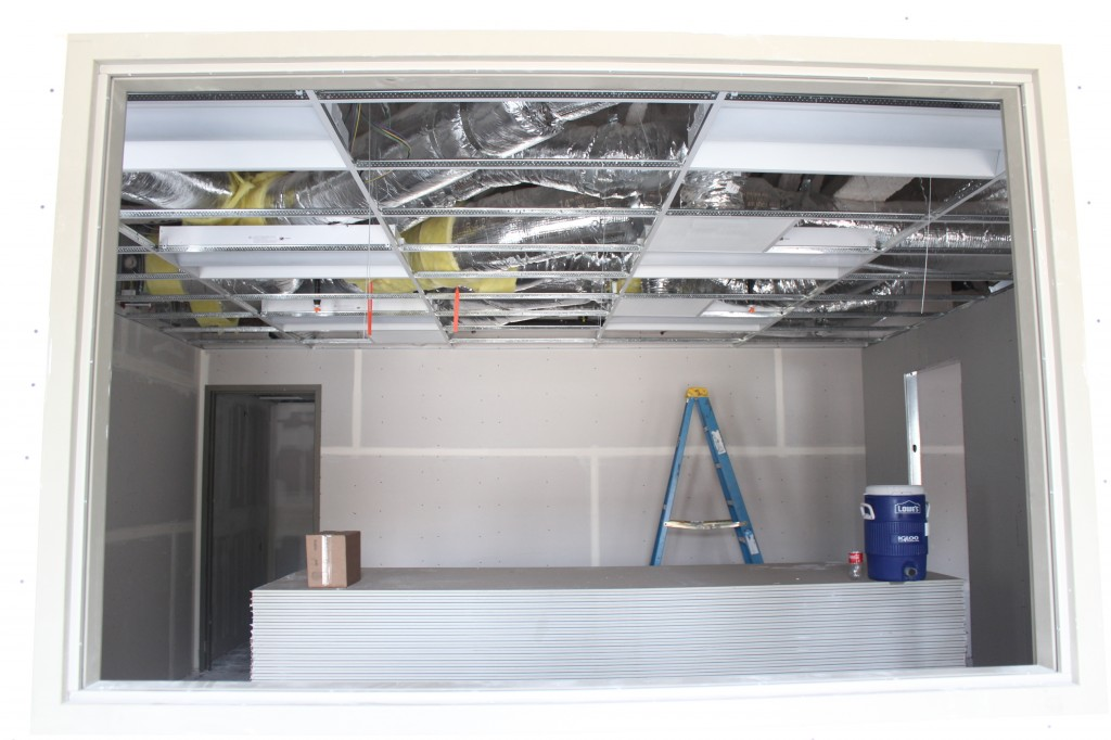 ceiling tile in pre-school No2-rm 107