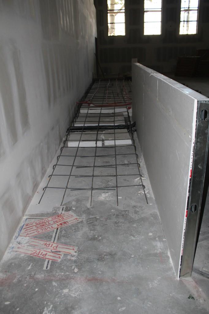 pulpit access ramp