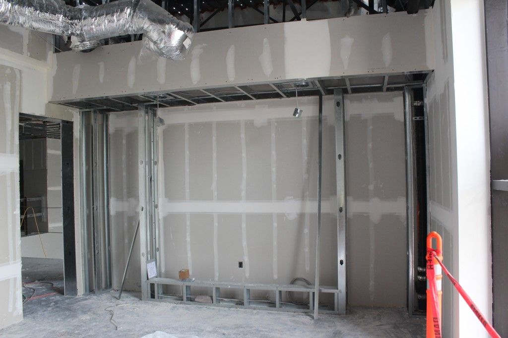 Western Conf room - glass frame-front