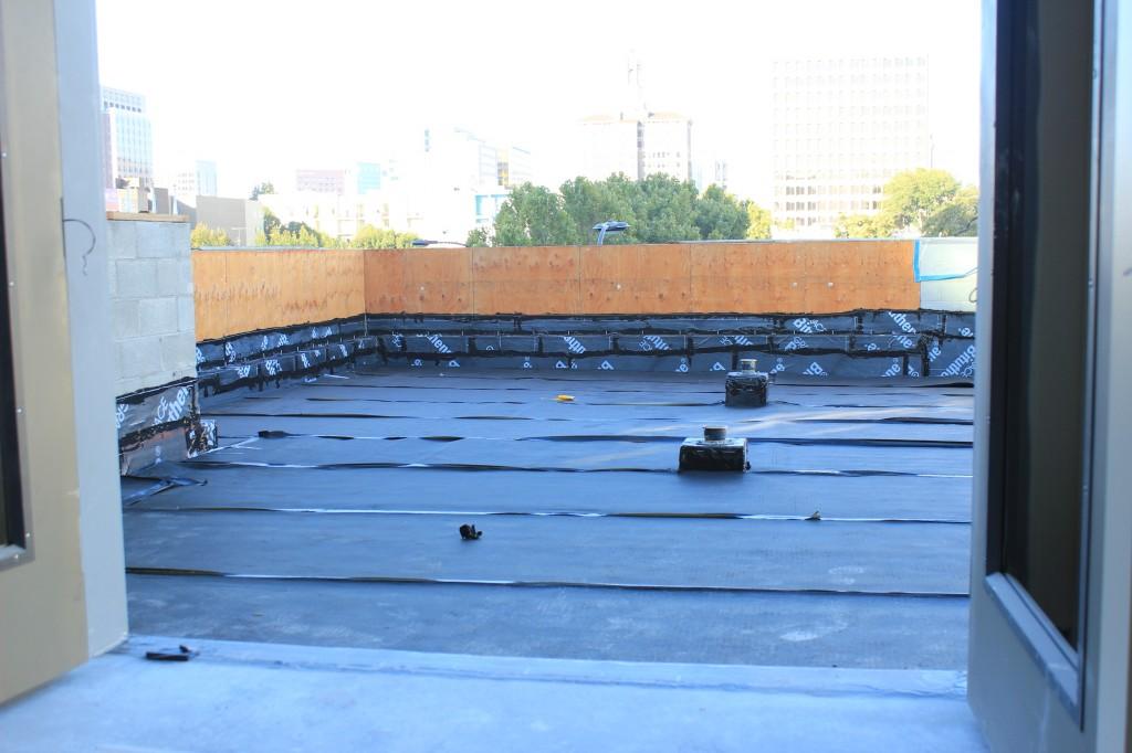 Third floor deck 130906
