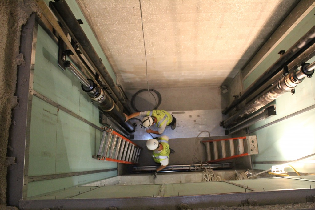 elevator hydraulics