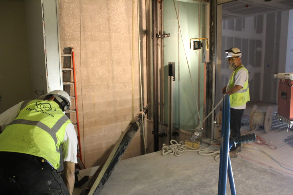 elevator rigging