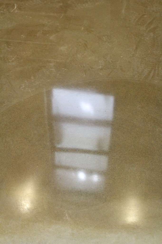 sanctuary floor reflections
