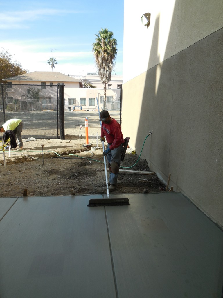 Playground Concrete Finishing