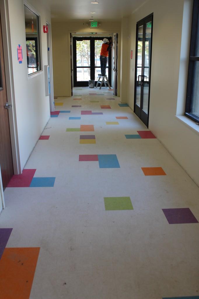 Pre-school hall tile
