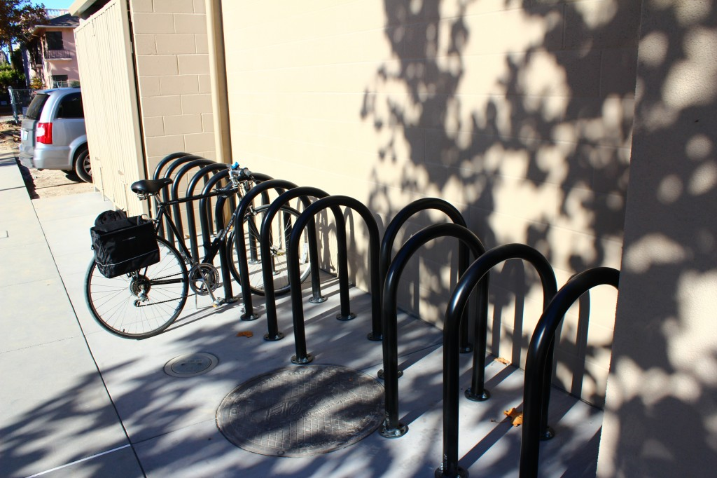 bike rack-space available