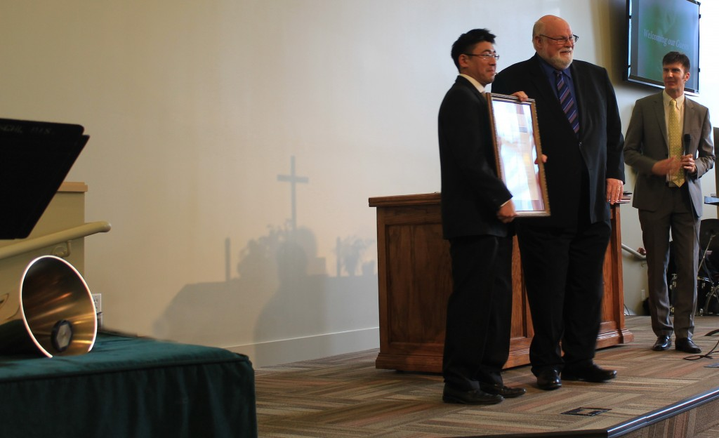 SJFIRST Grand Opening- Jim Beall Proclamation