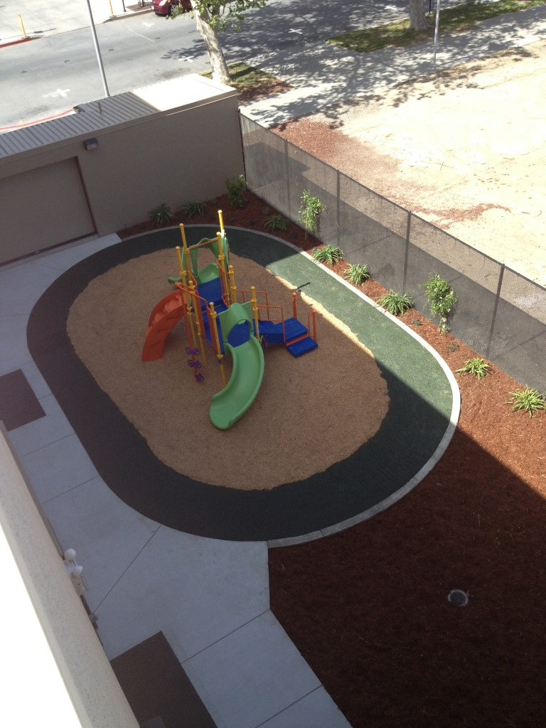 play structure top view